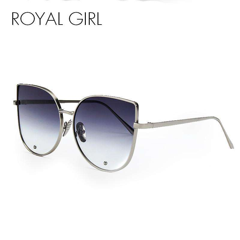 ROYAL GIRL Alloy Frame Sun Shades