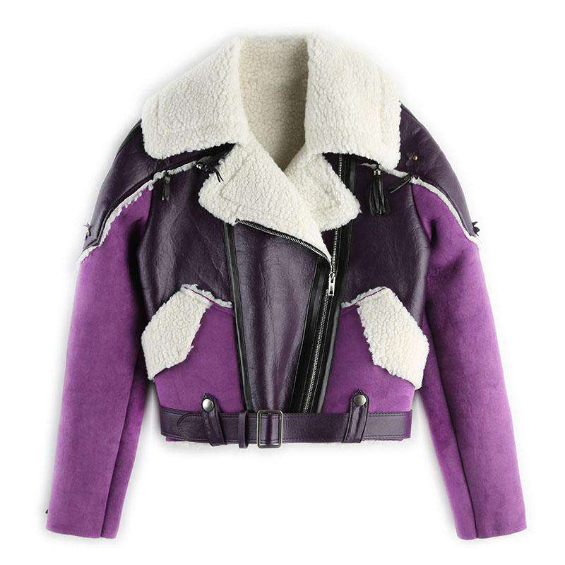 Winter Warm Female Short Jackets Coat