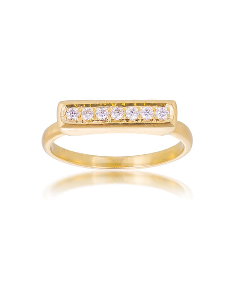 14ct Yellow Gold Diamond Ring