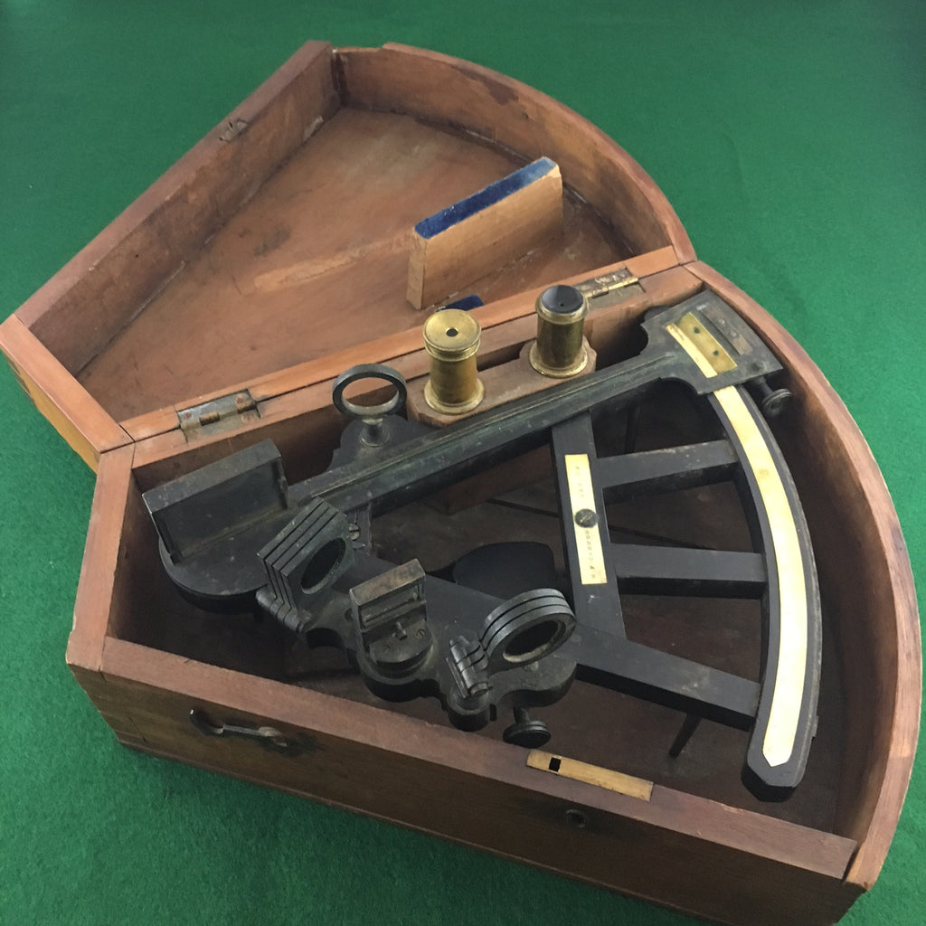 Zero Stock Antique Marine Octant Sextant Made By W F