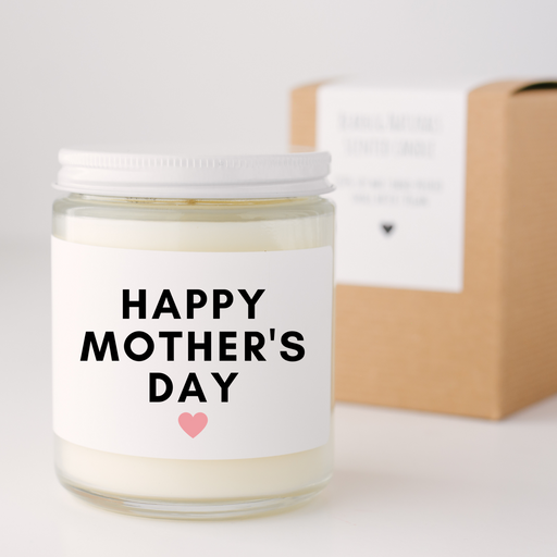 BearHug Happy Mother's Day Soy Candle