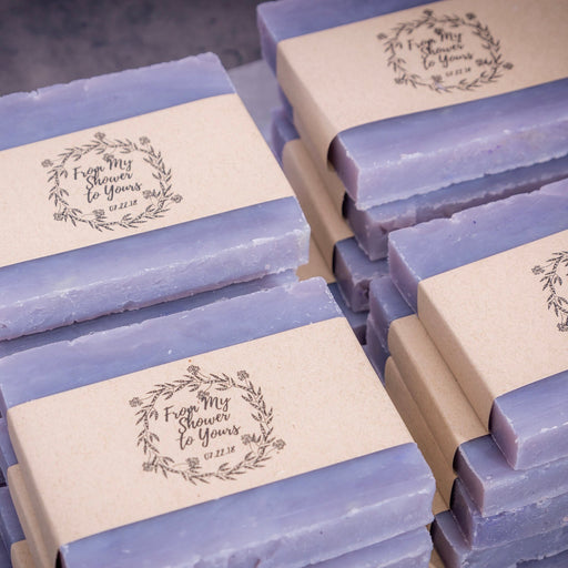"Set of 10 ""From My Shower To Yours"" Medium Sized Soap Bars"