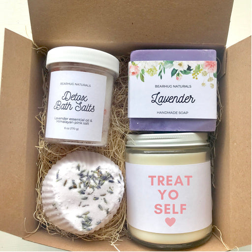 Best Friend Gift, Treat Yo Self Gift, Self Care Kit, Spa Gift Set