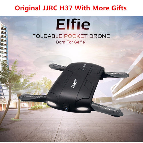 JJRC H37 Elfie Foldable Mini RC Drone With Camera
