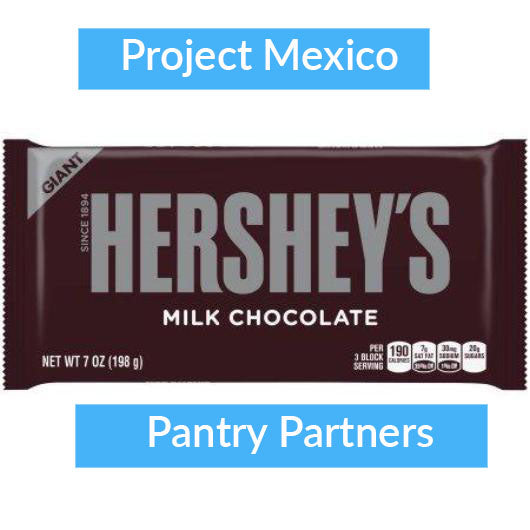 Hershey Chocolate bars - 7 oz