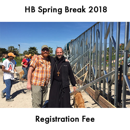 HB Spring Break 2018 Registration Fee