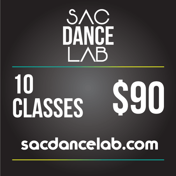 Sac Dance Lab 10 Classes