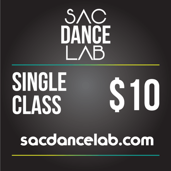 Sac Dance Lab Single Class