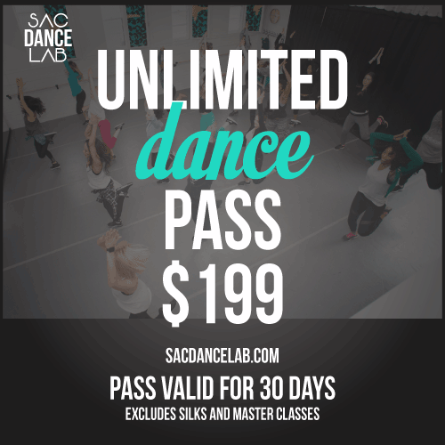 Sac Dance Lab Unlimited Dance Pass