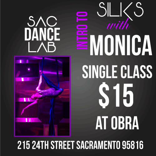 Sac Dance Lab SILKS Single Class