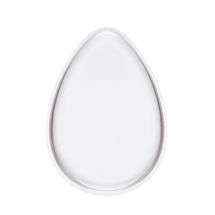 Oval Cosmetic Silicone Makeup Applicator / Esponja ovalada antibacterial de silicona
