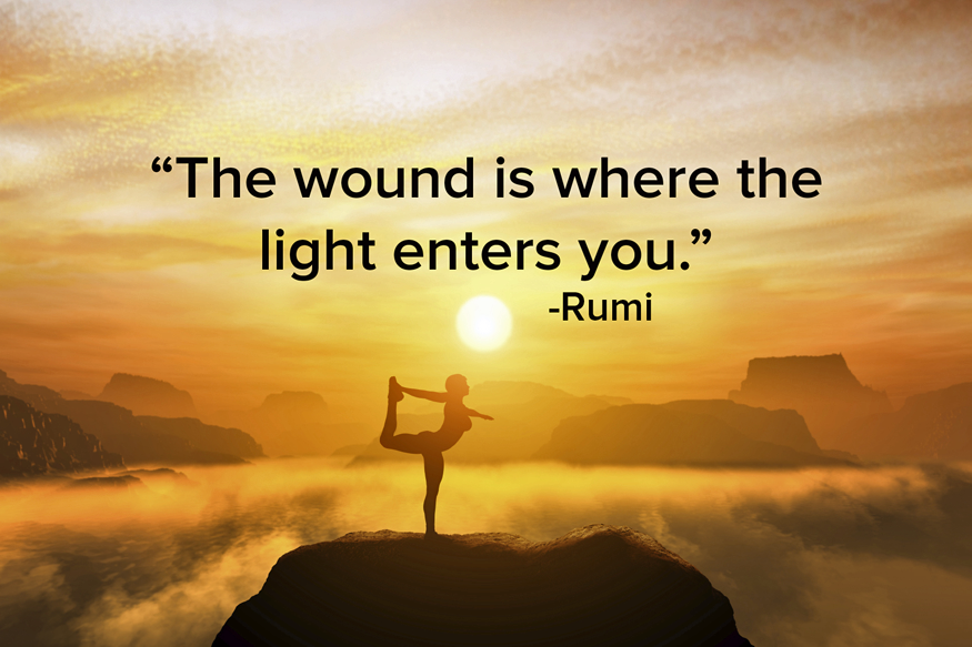 The Wound Is Where The Light Enters : Healing Through Our Shadows