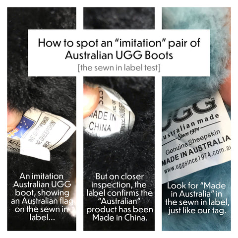 9de04aea026 How to spot a fake pair of UGG boots – UGG Since 1974
