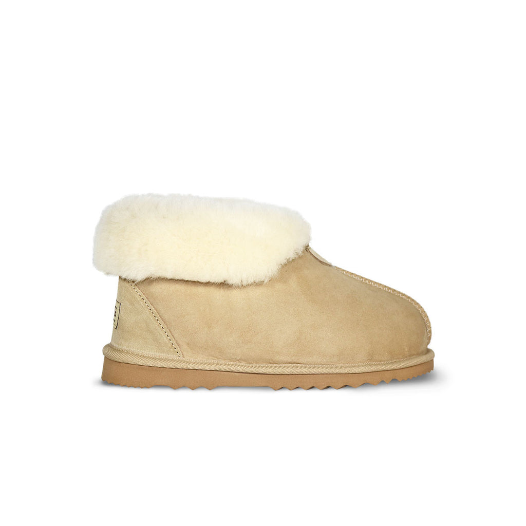 Ankle Slipper Sand sheepskin ugg boot online sale by UGG Australian Made Since 1974 Side view