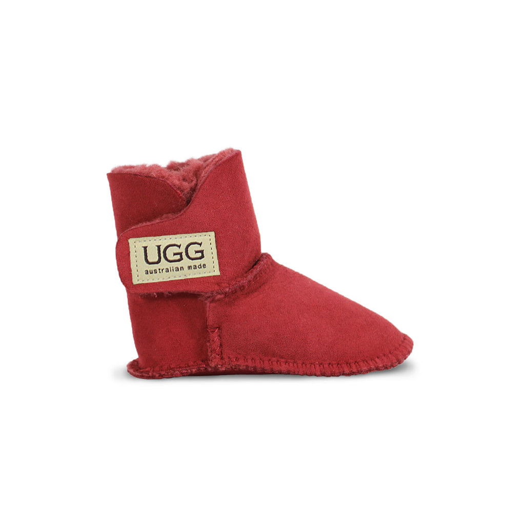 Baby Jester red sheepskin ugg boot online sale by UGG Australian Made Since 1974 Side view