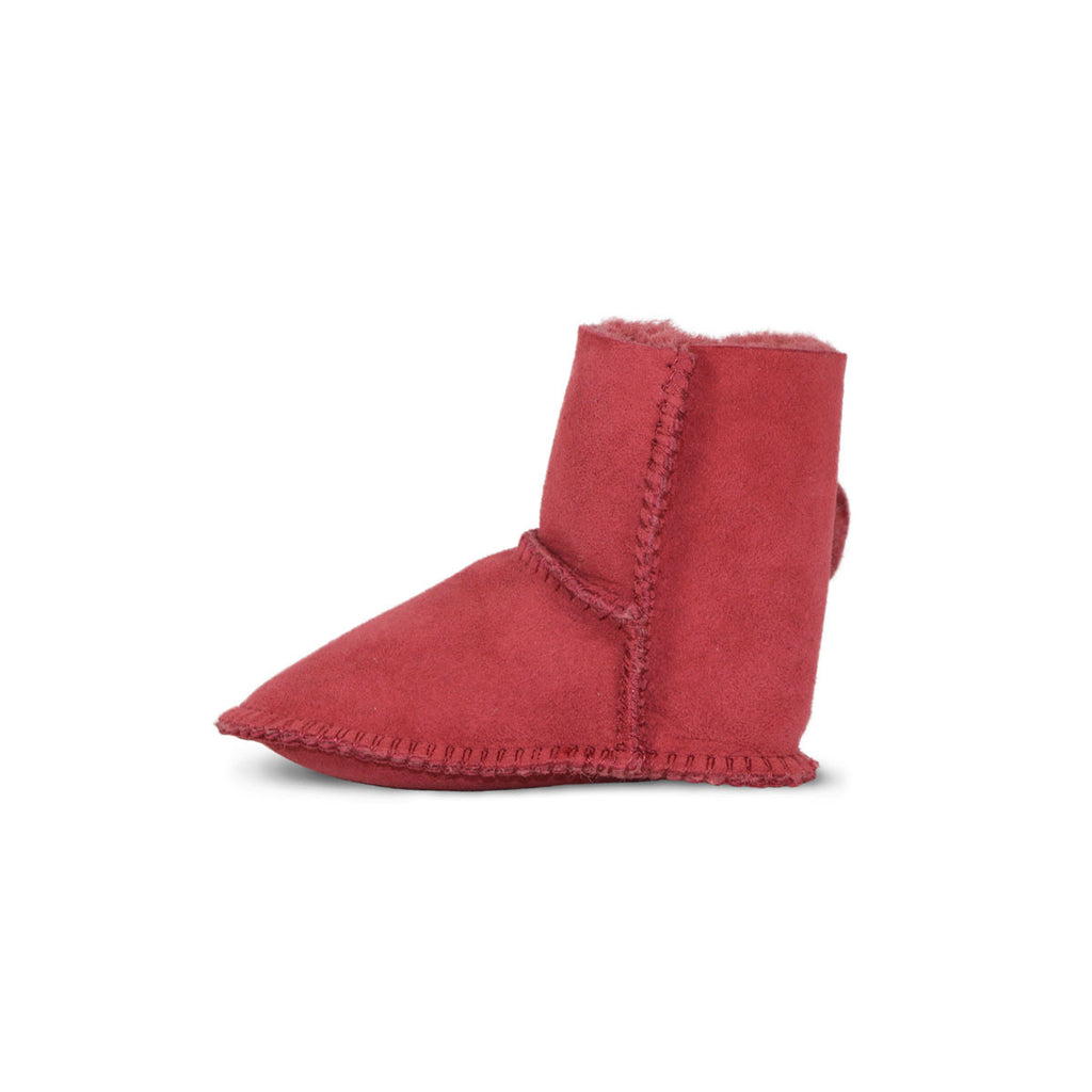 Baby Jester red sheepskin ugg boot online sale by UGG Australian Made Since 1974 Reverse side view