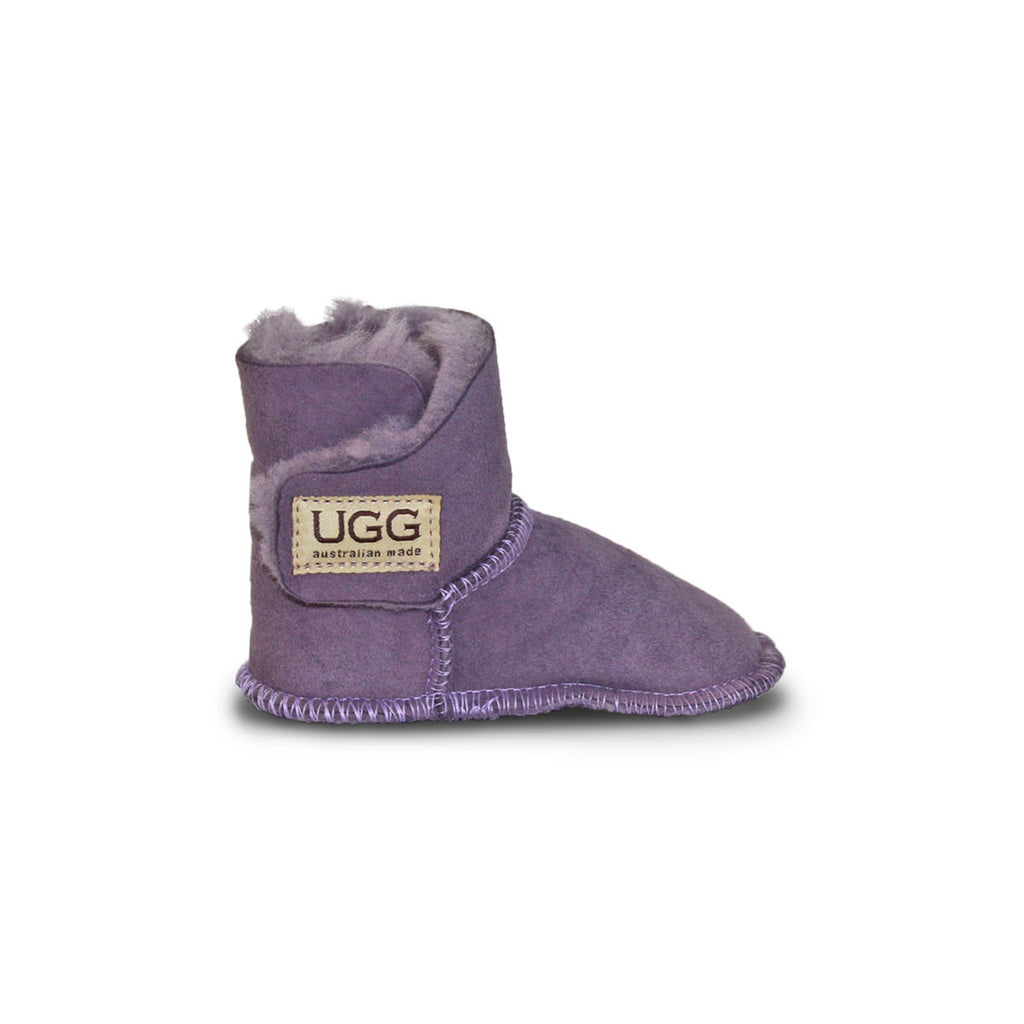 Baby Lilac purple sheepskin ugg boot online sale by UGG Australian Made Since 1974 Side view