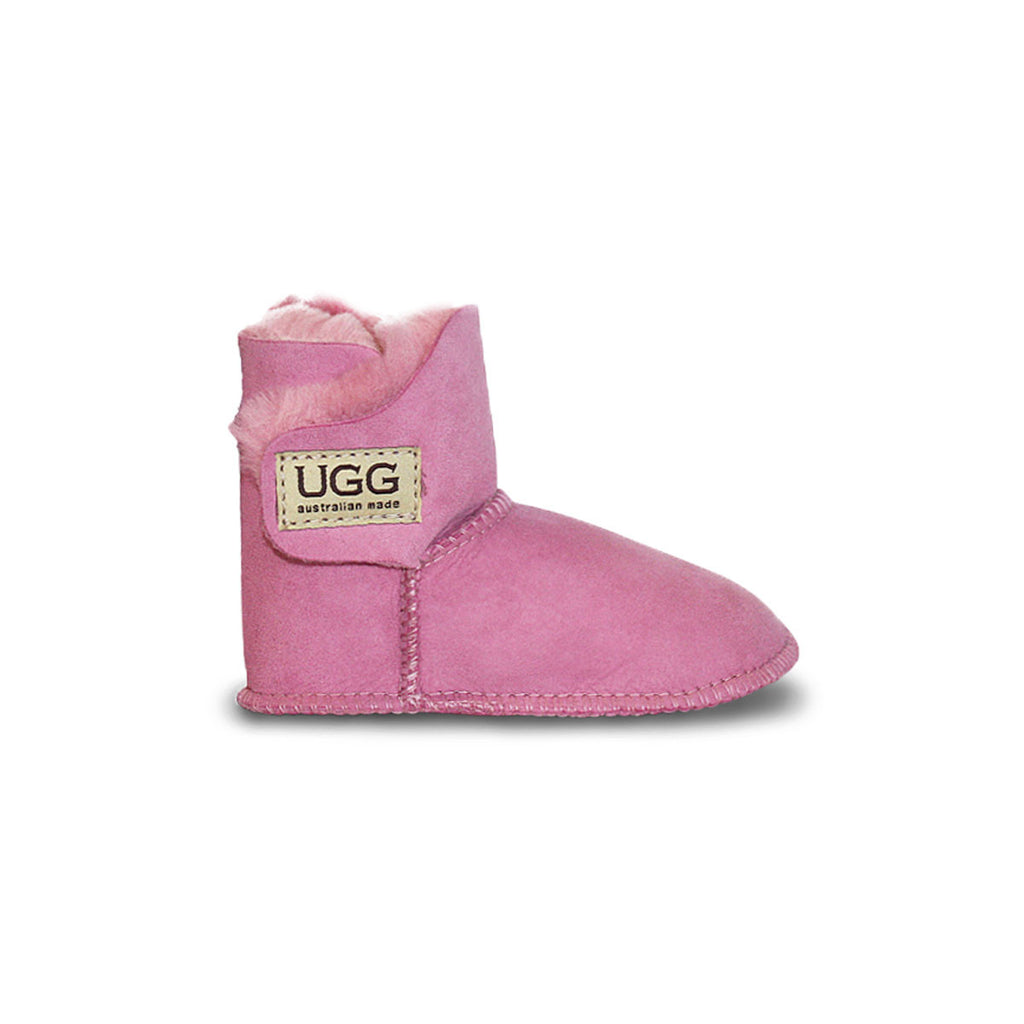 Baby Orchid pink sheepskin ugg boot online sale by UGG Australian Made Since 1974 Side view