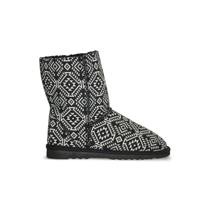 Aztec Moon Classic Mid sheepskin ugg boot online sale by UGG Australian Made Since 1974 Side view