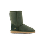 Classic Mid Monogram Sheepskin UGG Boot in Natural