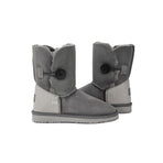 Australian Made sheepskin UGG Boots Burleigh Button Mid