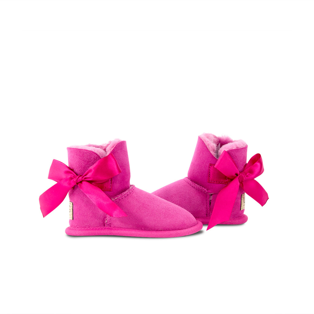Toddler UGG Bow Suede Sole