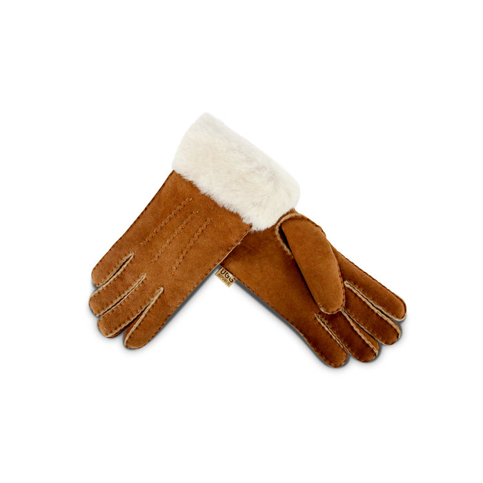 Chestnut Sheepskin Gloves
