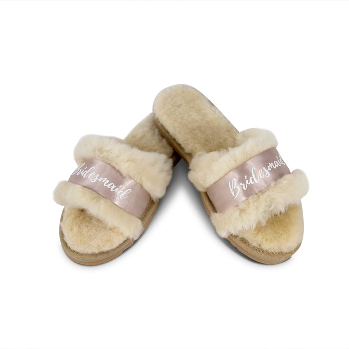 Fluffy Bridesmaid Slides