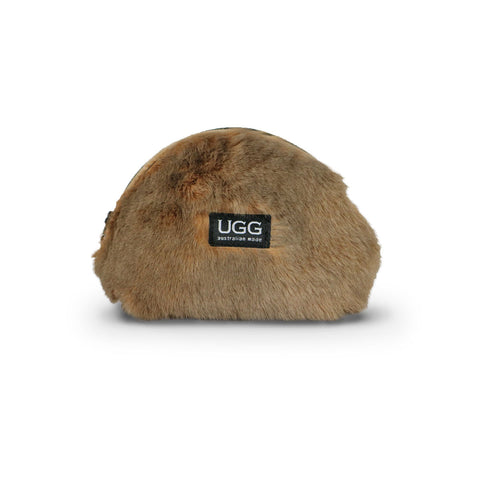 Coin Purse Kangaroo fur online sale by UGG Australian Made Since 1974 Front view
