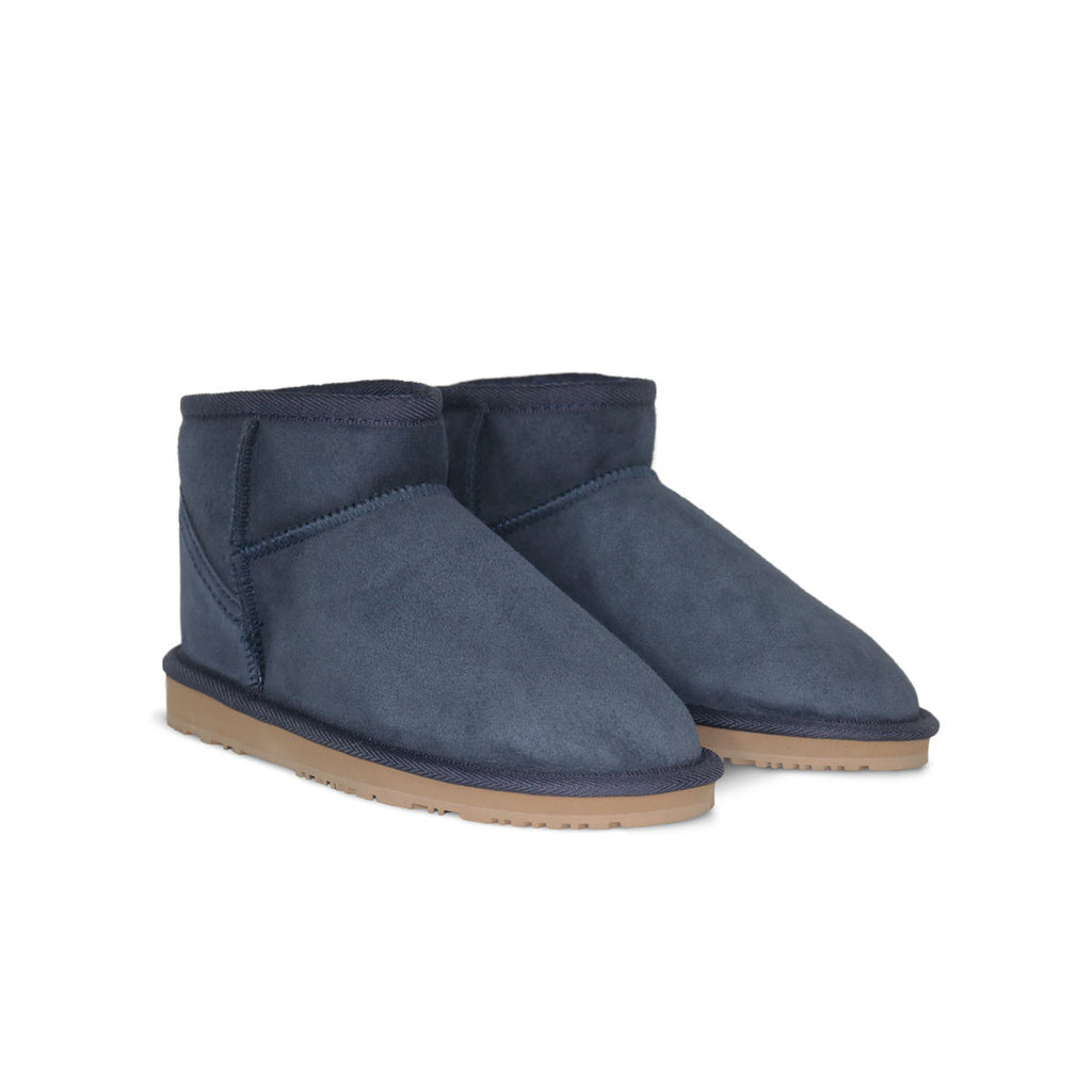 Classic Ultra Mini Navy sheepskin ugg boots sale for men by UGG Australian Made Since 1974