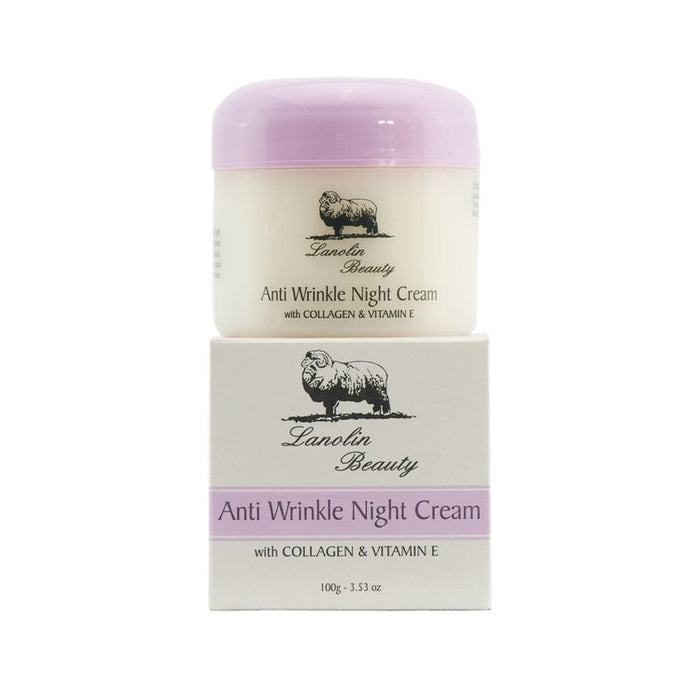 Lanolin Anti Wrinkle Night Cream