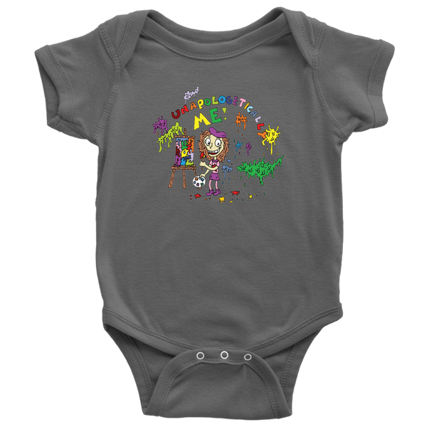 Unapologetically Me Short Sleeve Onesie
