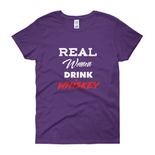 "Women's ""Real Women"" short sleeve tee"