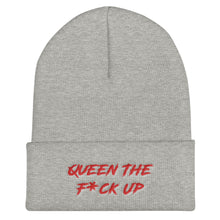 """Queen The F*ck Up"" Beanie"
