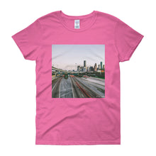"Women's ""HTown Skyline"" tee"