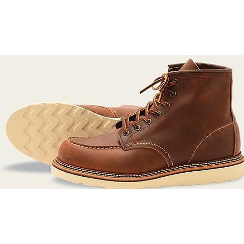 RED WING Style No. 1907 Moc Toe
