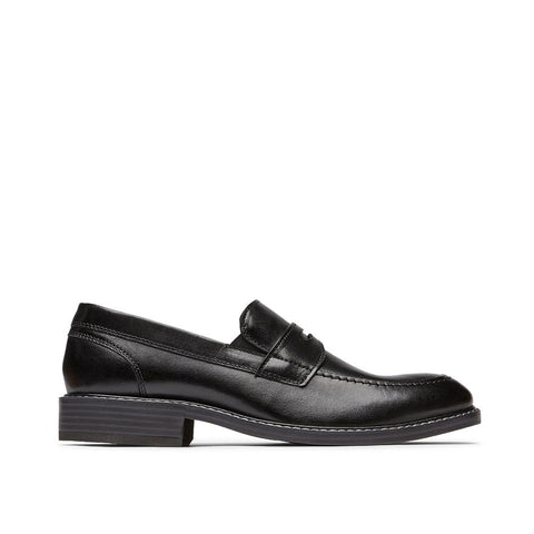 Rockport Men's Kenton Penny Loafer Black/Glass CH8963