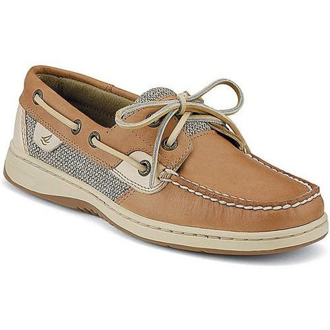Sperry Women BLUEFISH 2-EYE BOAT SHOE Linen Oat 9276619