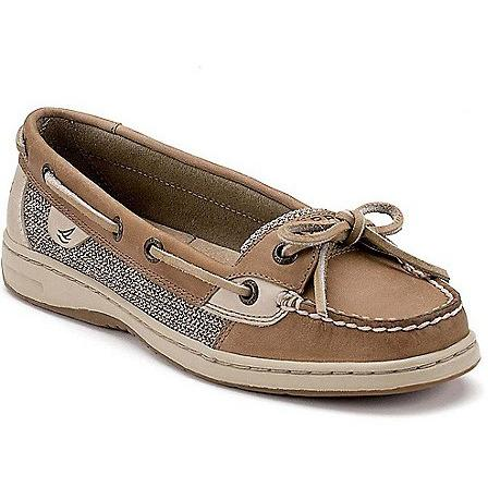 Sperry women ANGELFISH SLIP-ON BOAT SHOE linen Oat 9102047