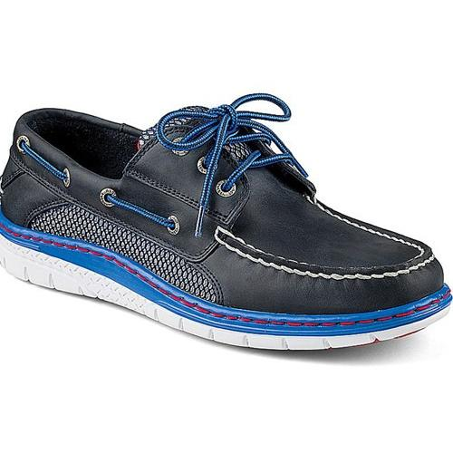 Sperry Men BILLFISH ULTRALITE 3-EYE BOAT SHOE Navy/Blue sts10672