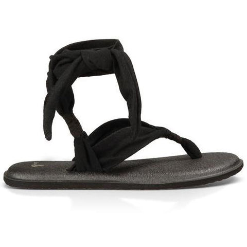 SANUK Yoga Slinged up Heather Black