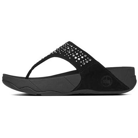 FITFLOP Novy in Suede Black 507-001