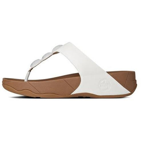 FITFLOP Petra Leather Urban White 476-194