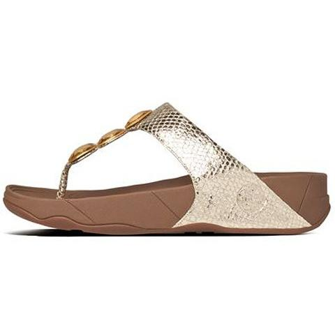 FITFLOP Petra Pale Gold 475-308