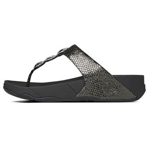 FITFLOP Petra Pewter 475-054