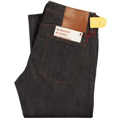 The Unbranded Brand UB401 Tight Fit Indigo Selvedge