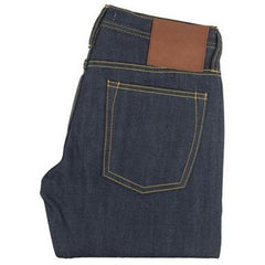 The Unbranded Brand UB215 Tapered Fit True Blue Selvedge