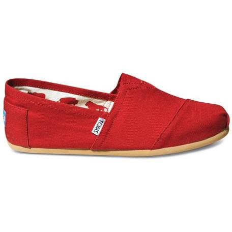 Toms Canvas Men's Classic 001001A07 Red