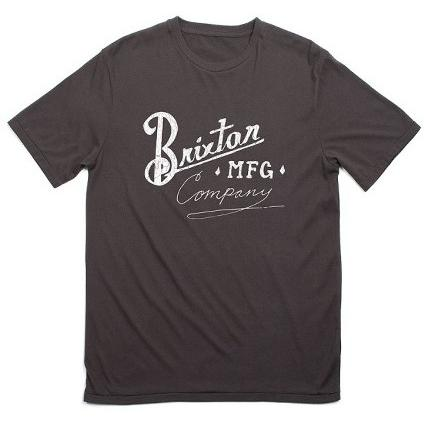 Brixton Bancroft S/S Standard Tee Washed Black 115-06322-0141