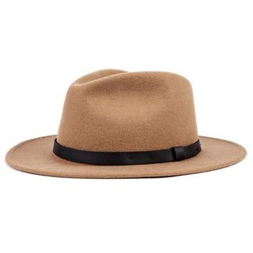 Brixton Messer Fedora Tan/Black 115-00136-0638